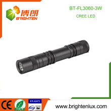 Factory Supply Custom Made Aluminum 1*aa battery Operated 3watt Pocket Small Powerful Mini Cree led Flashlight