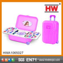 Alta qualidade make up moda meninas beleza jogo set brinquedos mala