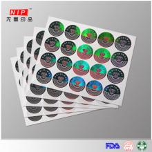 Étiquettes inviolables avec effets hologramme