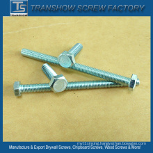 China Factory in-Stock Sales DIN933 Mild Steel Hex Bolts