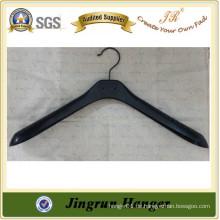 Mode Schwarz Kunststoff Anzug Kleiderbügel / Kleiderbügel