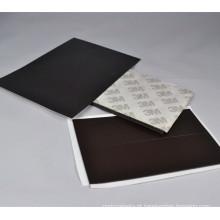Folha magnética de folha de borracha 3m / folha autoadesiva magnética do ímã