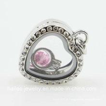 Imitação de moda em aço inoxidável pingente colar de jóias para as mulheres