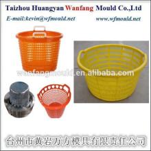 China Taizhou Injection Plastic Fish Basket Mould/OEM Custom Supply Plastic Fish Basket Mould