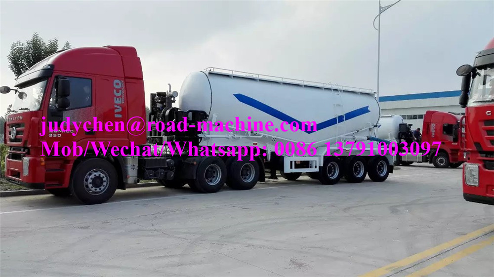 Bulk Cement Semi Trailer