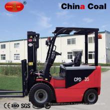 Équipement de construction de chariot élévateur à piles électrique de CPD