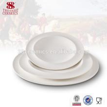 Haoxin vaisselle italienne ronde assiette porcelaine de porcelaine