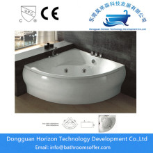 Best Quality for Sector massage Bathtub,Acrylic Sector Bath Tub,Indoor Sector Bath Tub,Sector 2 Person Bathtub Manufacturers in China Triangle massage bath jacuzzi bathtub export to Indonesia Exporter