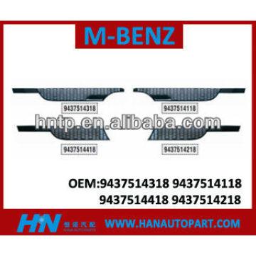Parrilla de calidad excelente para mercedes benz parte del cuerpo auto partes MERCEDES BENZ parrilla 9437514118 9437514318