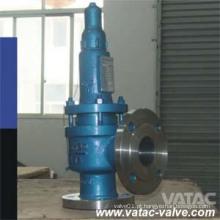 ANSI 1000wog / 3000wog / 5000wog Válvula de segurança flangeada de elevação completa