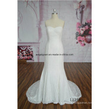 High Quality White Bridal Gown Lace Mermaid Wedding Dress Gown