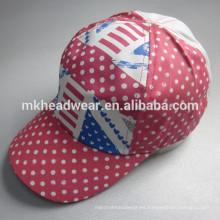 Niña bastante cinco paneles AOP PAC y sombrero