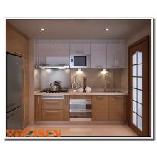 Armário de cozinha laminado Formica de moda nova