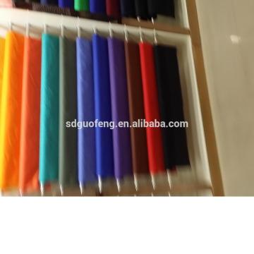 Venda quente escola uniforme tecido CVC60 / 40 32 * 32 130 * 70
