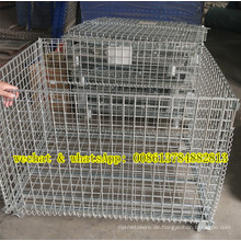 Stapelbare Wire Bins & Box & Korb & Container
