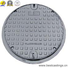 B125 C250 D400 E600 F900 couvercle de trou d'homme rond hydraulique