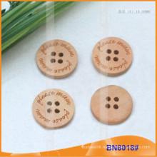 Natural Wooden Buttons for Garment BN8018