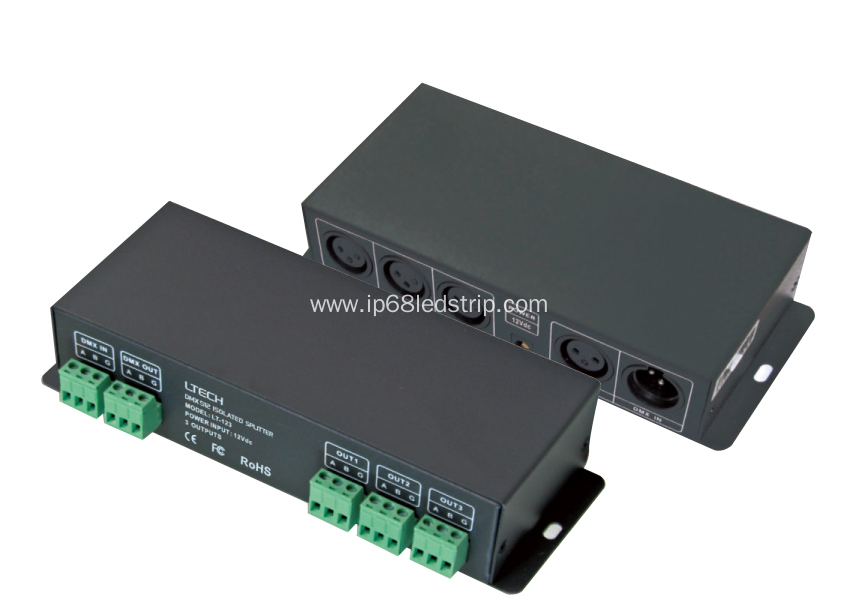 DMX(485) Signal Amplifier 12VDC