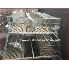 Fabricante de jaula de conejo galvanizado