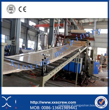 Máquina de extrusora de folha de PVC de mármore