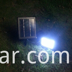 dusk to dawn solar garden light