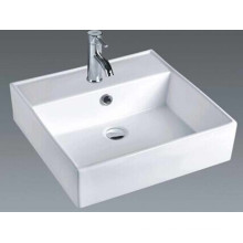 Bathroom Counter Square Ceramic Basin (7094)