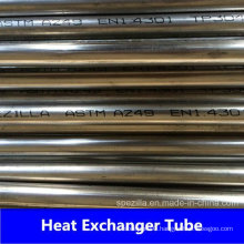 A249 AISI 304 Heat Exchanger Welding Tube