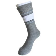 Halbe Kissen Baumwolle Mode Outdoor Sport Streifen Socken (JMCOD03)