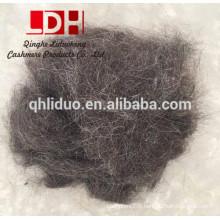 Tapis utiliser la fibre de cheveux de laine de chèvre noire pour feutre
