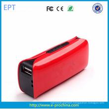 Custom Logo Power Bank with Lighting for Mobile Phone  2200-2600mAh