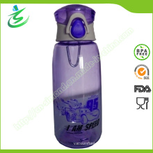 Tritan Water Bottle with Auto Button, 100% Food Grade