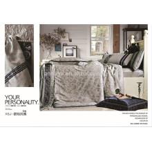 Home Textiles Jacquard Duvet Cover Bedding Set China Manufacturer