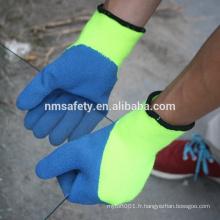 NMSAFETY latex enduit personnalisé haut thinsulate gants d'hiver
