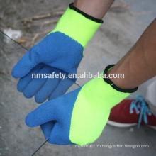 NMSAFETY латекс покрытием персонализированный топ thinsulate зимние перчатки