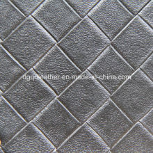 Weave Leather avec du cuir de haute qualité (QDL-53234)