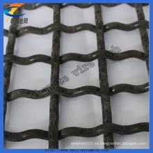 Malla de alambre de tejido cuadrado prensado galvanizado