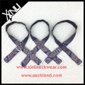 Silk Jacquard Woven Paisley Adjustable Bow Tie Straps