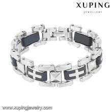 Moda legal popular mais recente prata banhado aço inoxidável jóias pulseira de relógio pulseira-7