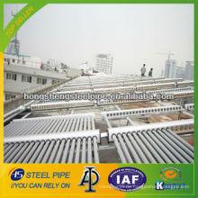 Galvanisiertes Stahlrohr für Solar-Warmwasser-Projekt