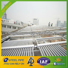 Galvanized Steel Pipe for Solar Hot Water Project