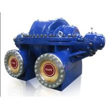Pompe centrifuge à double aspiration de cas de fente axiale, pompe à eau de drainage de capacité de volume élevé