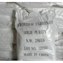 Hochreines Strontium-Carbonat für Feuerwerk, Fluoreszierendes Glas, Flares