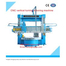 Cnc vertikale drehen & bohrende maschine preis auf Lager für heißen Verkauf