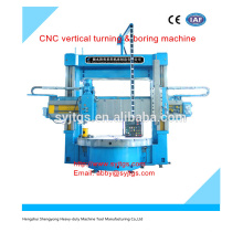 cnc vertical turning & boring machine price in stock for hot sale