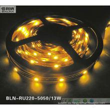 2014 venta caliente SMD 5050 flexible barra ligera del LED