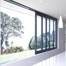 Fenêtre coulissante en aluminium adaptée aux besoins du client de couleur de Feelingtop (FT-D80)