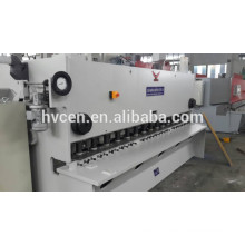 Máquina de corte de chapa de alumínio qc11y-25 * 3200 / cnc máquina de cisalhamento hidráulico