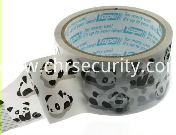 Strong color cheap water based packing tape