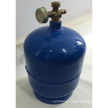Cylindre de gaz de LPG et réservoir de gaz en acier (3kg)