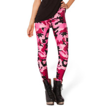Ladies sexy digital print sublimation colorful leggings